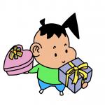 嫁の誕生日プレゼントはお金と愛情を分ける