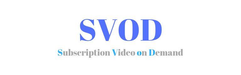 定額制動画配信(SVOD)